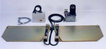 Детектор люфта в сочленениях рулевого механизма и подвески, напольная установка Josam AM 800 K