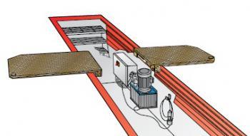 Детектор люфта в сочленениях рулевого механизма и подвески, установка на яму Josam AM 900 K