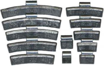 набор грузов для литых дисков 15гр Clipper 0315