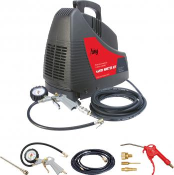 Набор компрессорного оборудования Fubag HANDY AIR OL 195 + набор из 4 предметов