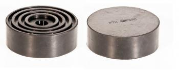 Резиновая опора на домкрат подкатной (цельнолитая, высокая износостойкость). Универсальная РТИ 1002