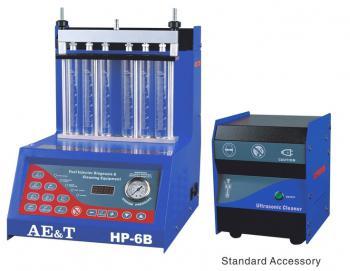 Установка для проверки с выносной ультразвуковой очисткой 6 форсунок AE&T HP-6В
