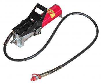Насос гидравлический с пневмоприводом 120-170PSI, заправочная емкость 800см3, откачка 700см3/мин, закачка 150см3/мин JTC 8P101A