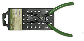 Съемник внутренних стопорных колец загнутый 160мм  на холдере Дело Техники 421160