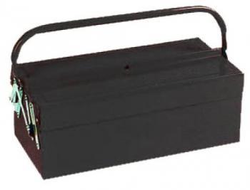 Ящик инструментальный (404 х 200 х 150 мм) раскладной 2 секции Torin TBC125
