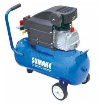 Компрессор поршневой с прямым приводом (ресивер 24 л, 220В) Sumake JD-2024E