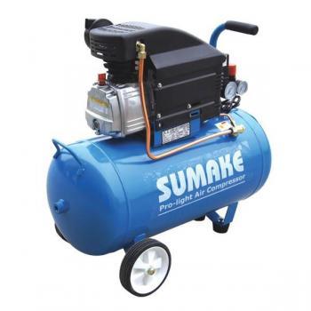 Компрессор поршневой с прямым приводом (ресивер 50 л, 220В) выход 230 л/мин. Sumake JD-2550