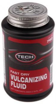 Клей CHEMICAL VULCANIZING FLUID для химической (холодной) вулканизации 230мл с кисточкой TECH 760