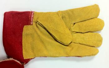 Перчатки сварщика замшевые высокие JTC TC-ZS