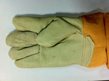 Перчатки Юкон кожа теплые JTC TC-YT