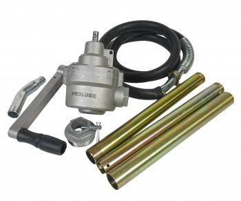 Насос бочковый роторный редукторный для топлива 65л/мин PROLUBE PL-44198