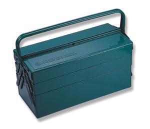 Портативный ящик для инструментов  с 3 секциями: 470 х 220 х 350 мм JONNESWAY C-3DH2
