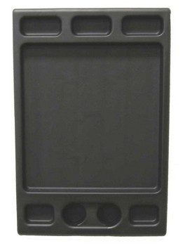 Пластиковое оборудование для тележки ( столешница, ручка, крючок) JONNESWAY C-A456