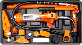 Набор гидравлического инструмента для кузовного ремонта 4т 17предметов Ombra OHT948M