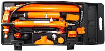Набор гидравлического инструмента для кузовного ремонта 10т 17предметов Ombra OHT918M