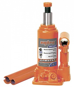 Домкрат гидравлический бутылочный 2 т Ombra OHT102
