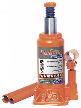 Домкрат гидравлический бутылочный 5 т Ombra OHT105