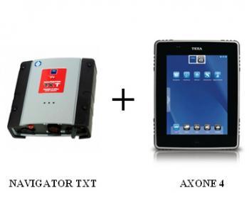 Сканер для грузовых авто Texa AXONE 4 TRUCK + Navigator TXT